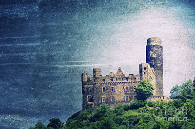 Mice Mixed Media - Castle Mouse by Angela Doelling AD DESIGN Photo and PhotoArt