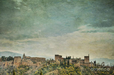 Photograph - Castle On A Hill by Marion Galt