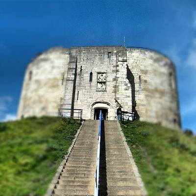 Old Wall Art - Photograph - #castle #york #yorkuk #uk #england by Abdelrahman Alawwad
