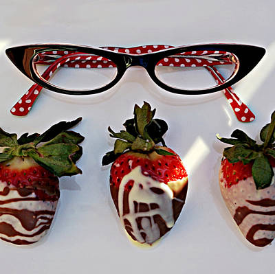 Janet Smith Photograph - Cat Eyeglasses by Janet Smith