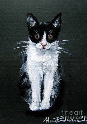Pastel - Cat I by Mona Edulesco