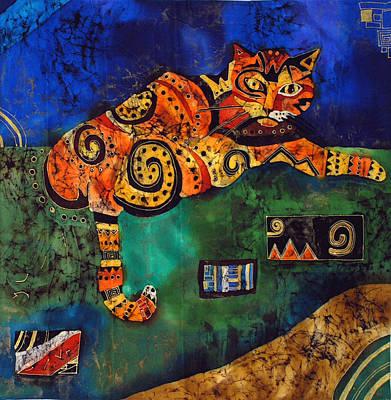 Cat Art Print by Sandra Kern