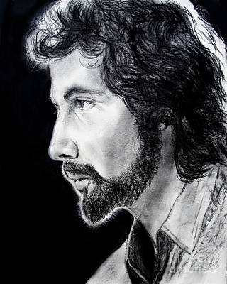 Drawing - Cat Stevens by Jim Fitzpatrick