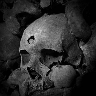 Photograph - Catacomb Person D2642 by Wes and Dotty Weber