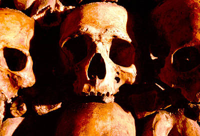 Catacombs In Paris Art Print