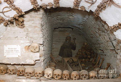 Photograph - Catacombs by Photo Researchers