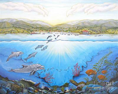 Wyland Painting - Catalina Island California by Jerome Stumphauzer
