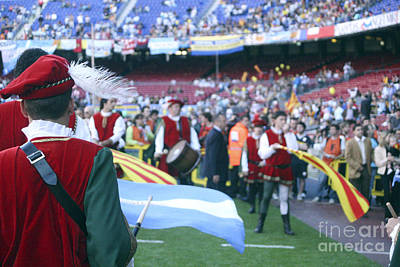 Photograph - Catalonia Vs Argentina Pre-match by Agusti Pardo Rossello
