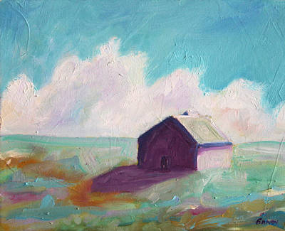 Tin Roof Painting - Catawba Virginia Barn by Todd Bandy