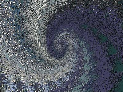 Tsunami Digital Art - Catch It by Tim Allen