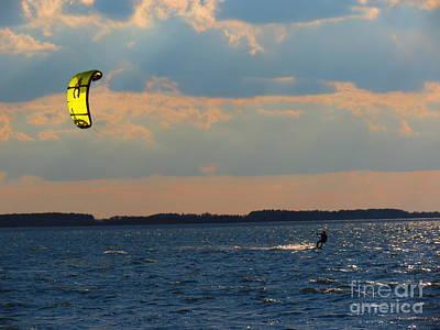 Catch The Wind Art Print by Rrrose Pix