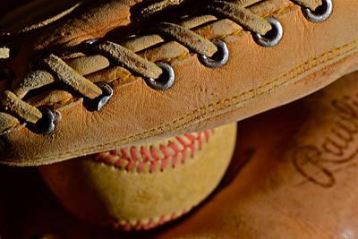 Photograph - Catcher's Mitt by Bill Owen