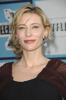 Cate Blanchett Photograph - Cate Blanchett At Arrivals by Everett