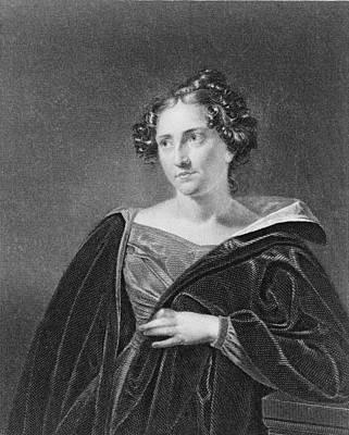 Catharine Maria Sedgwick 1789-1867 Art Print by Everett