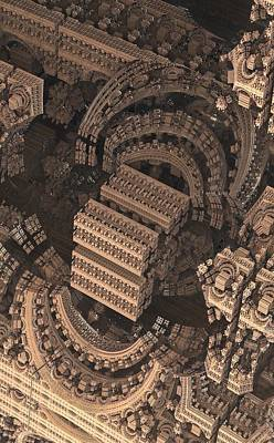 Science Fiction Photograph - Cathedral 1 Detail by Jacob Bettany