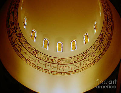 Photograph - Cathedral Dome In Martinique by Merton Allen
