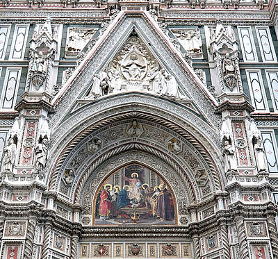 Photograph - Cathedral In Florence by Allan Rothman