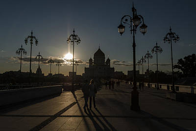 Photograph - Cathedral Of Christ The Saviour by Michael Goyberg