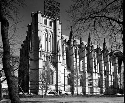Cathedral Of Saint John The Divine, New Art Print by Everett