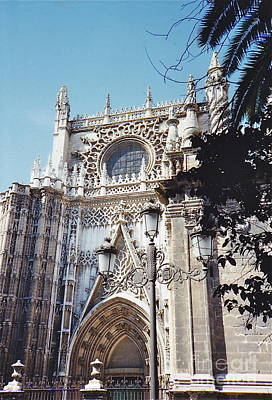 Photograph - Cathedral Of Seville by Barbara Plattenburg