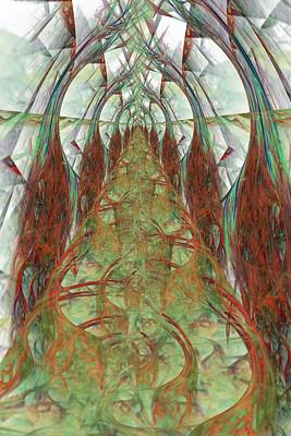 Digital Art - Cathedral by Rick Chapman
