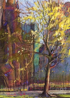 Painting - Cathedral Tree by Pamela Pretty