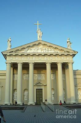 Photograph - Cathedral. Vilnius. Lithuania by Ausra Huntington nee Paulauskaite