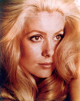 Catherine Deneuve Art Print by Everett
