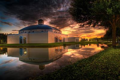 Photograph - Catholic Church by Al Hurley