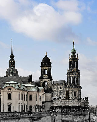 Photograph - Catholic Church Of The Royal Court - Hofkirche Dresden by Christine Till