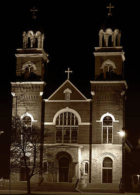 Photograph - Catholic Church by Scott Hovind