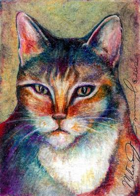 Drawing - Catitude by Melissa J Szymanski