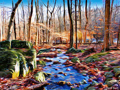 Catoctin Woods Art Print by Stephen Younts