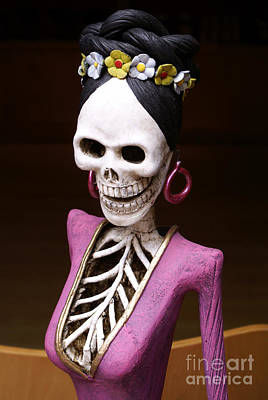Photograph - Catrina Figure  by John  Mitchell