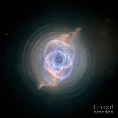 Photograph - Cats Eye Nebula by Nasa