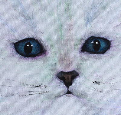 Painting - Cat's Eyes by Kume Bryant
