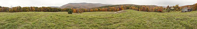 Photograph - Catskill Mountains Farm Panorama by Gregory Scott