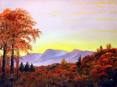 Painting - Catskills by Phil Burton