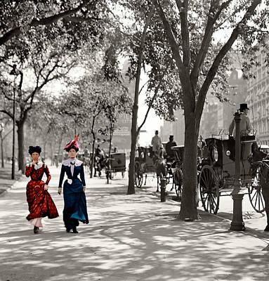 Catwalk In New York 1901 Art Print by Steve K