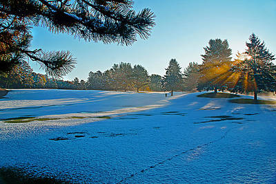 Golf Photograph - Caught By Surprise by Jim LaMorder