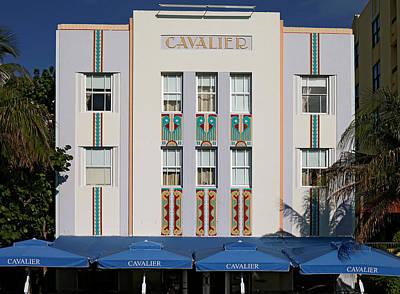 Photograph - Cavalier Hotel. Miami. Fl. Usa by Juan Carlos Ferro Duque