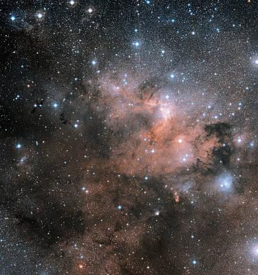 155 Photograph - Cave Nebula (sh2-155) by Davide De Martin