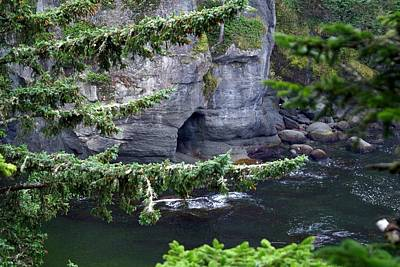 Neah Bay Photograph - Cave Of The Bay by Christy Leigh
