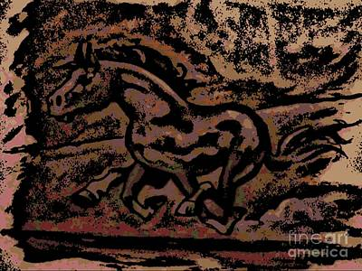 Painting - Cave Painting by George Pedro