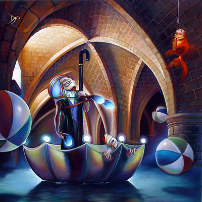 Caverna Magica Print by Patrick Anthony Pierson
