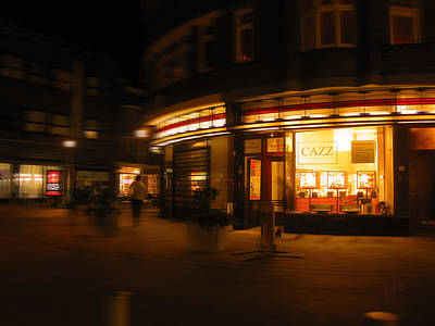 Briex Photograph - Cazz Tilburg By Night by Nop Briex