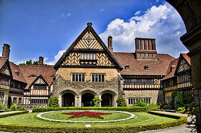 Cecilienhof Palace Berlin Germany Art Print by Jon Berghoff