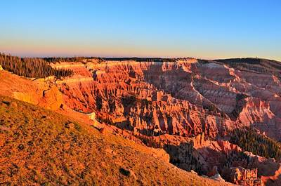 Photograph - Cedar Breaks Sunset by Mark Bowmer