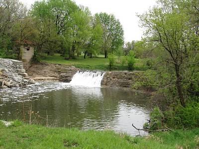 Photograph - Cedar Creek Falls by Keith Stokes