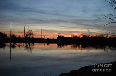 Photograph - Cedar Lake Sunset 2 by Mark McReynolds